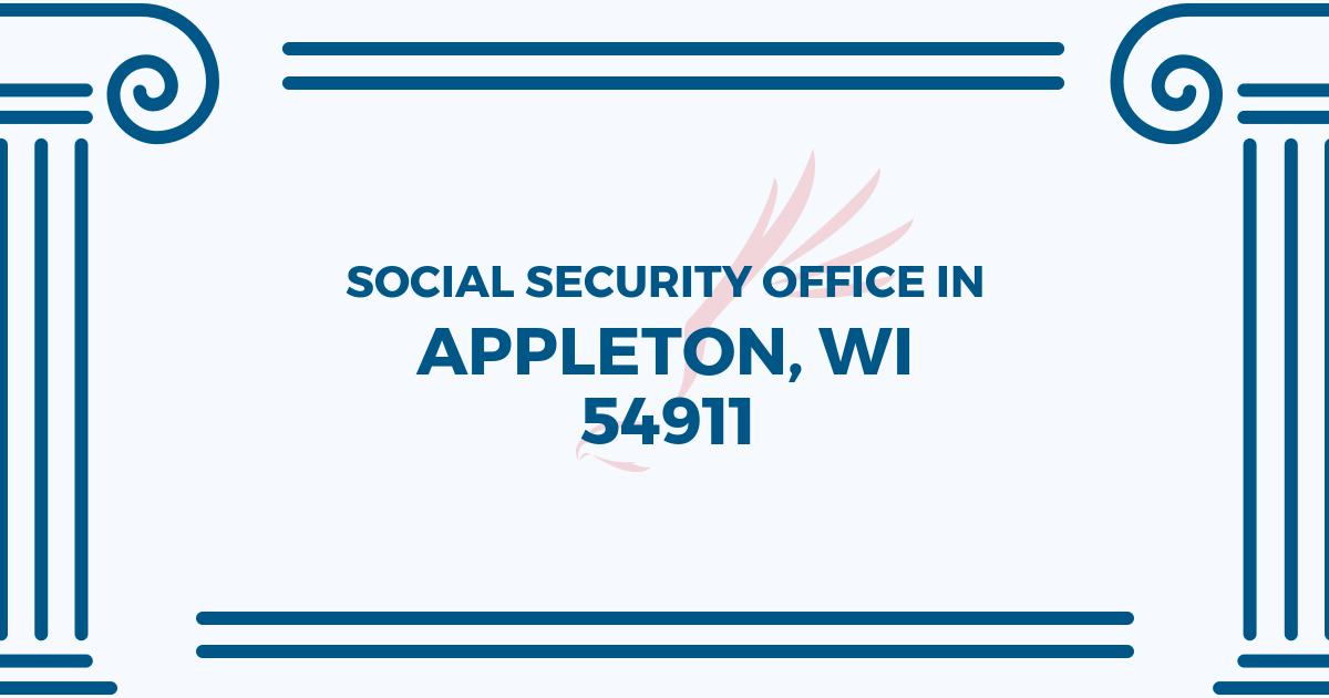 social-security-office-Appleton-Wisconsin-54911