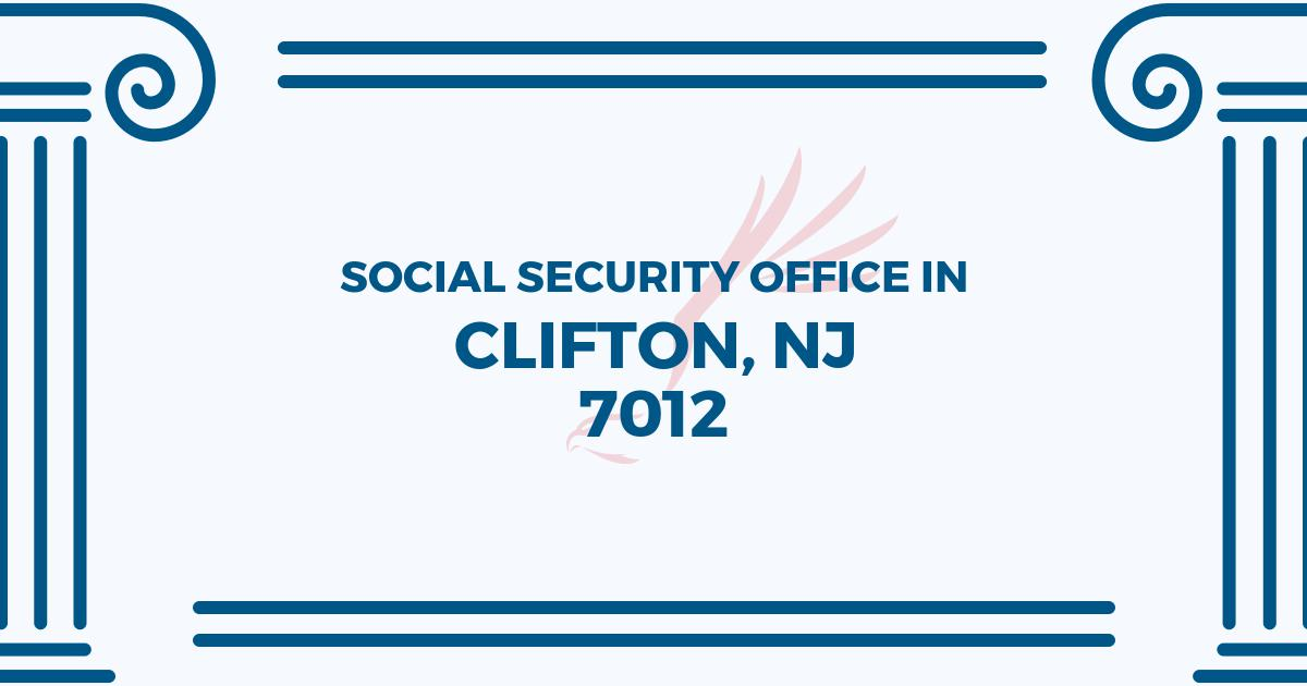 social-security-office-Clifton-New Jersey-7012