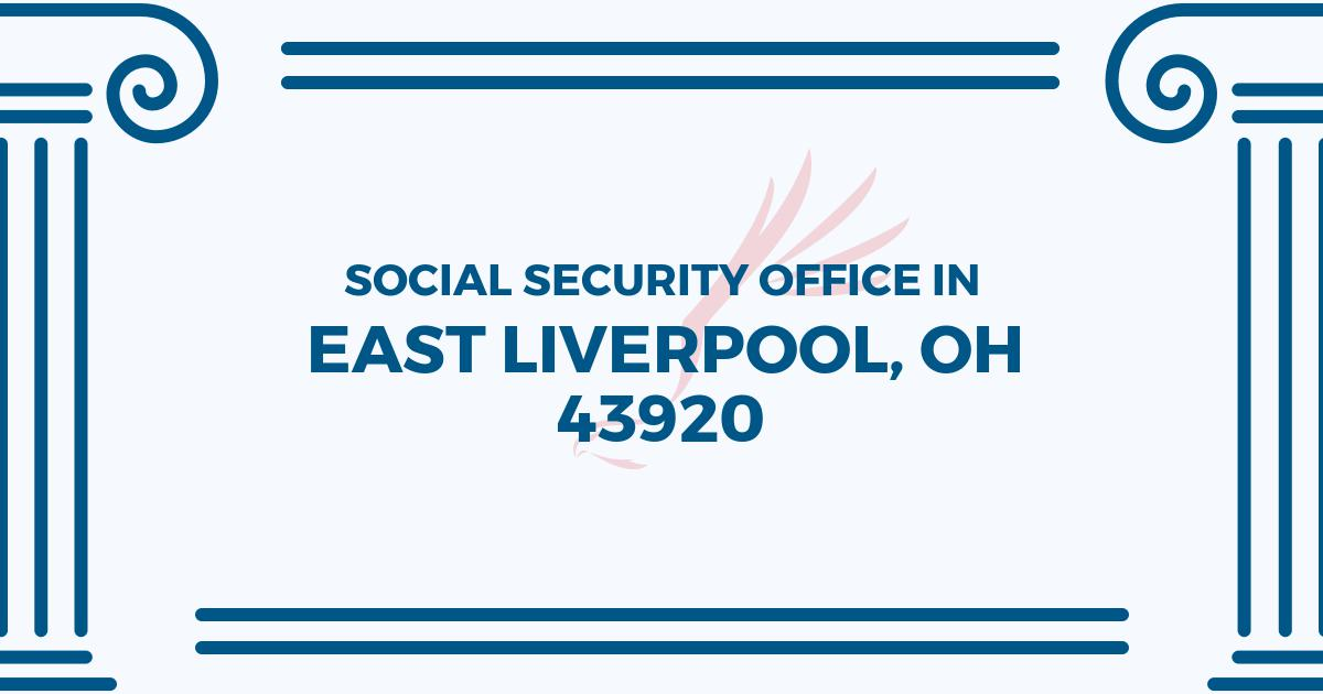 east liverpool social security office