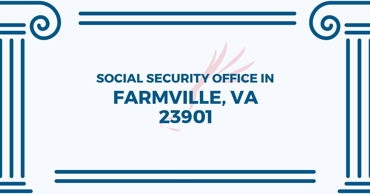 social-security-office-Farmville-Virginia-23901