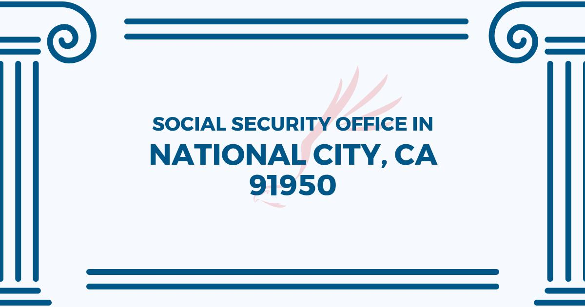 social-security-office-National City-California-91950