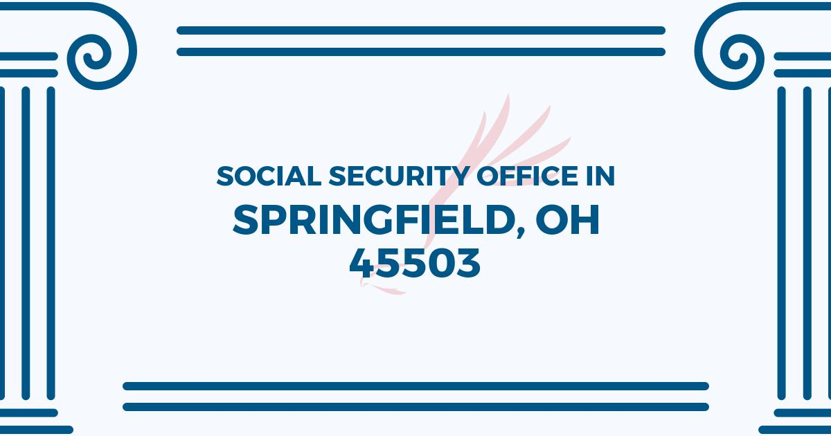 social-security-office-Springfield-Ohio-45503